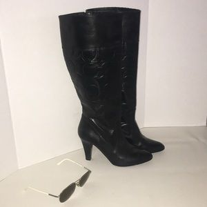 Coach Millie Leather Boots